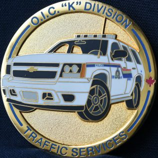 RCMP K Division OIC Traffic Services