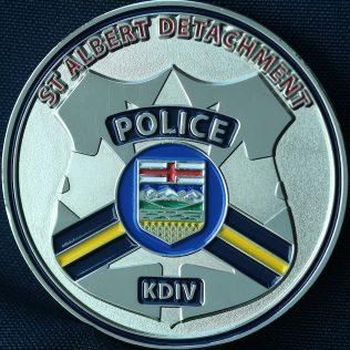 RCMP K Division - St Albert Detachment Traffic Services