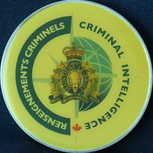 RCMP NHQ Criminal Intelligence