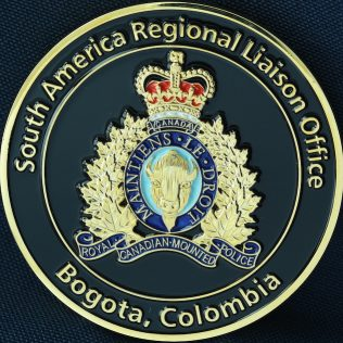 RCMP NHQ Liaison Office - Bogota Colombia