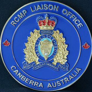 RCMP NHQ Liaison Office - Camberra Australia