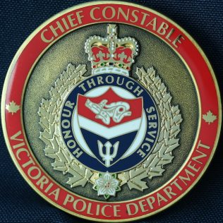Victoria Police Department Chief Constable