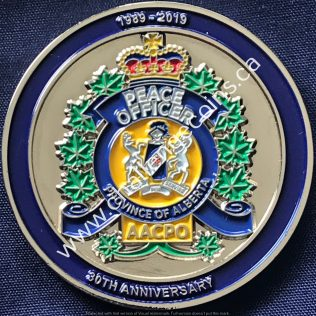 Alberta Association of Community Peace Officers 30 years Anniversary