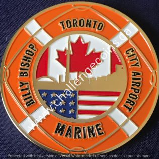Canada Border Services Agency CBSA - Billy Bishop City Airport Marine Gold