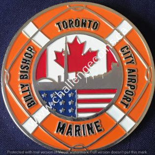 Canada Border Services Agency CBSA - Billy Bishop City Airport Marine Silver