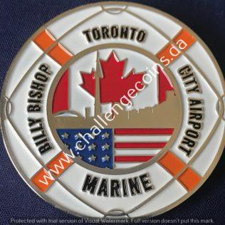 Canada Border Services Agency CBSA - Billy Bishop City Airport Marine White
