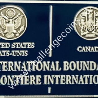 Canada Border Services Agency CBSA - International Boundary USA Canada