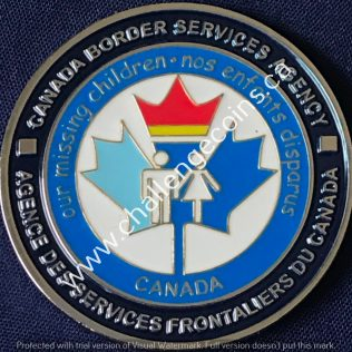 Canada Border Services Agency CBSA - Missing Children