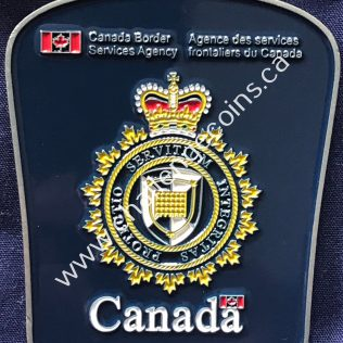 Canada Border Services Agency CBSA - Patch Shape