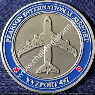 Canada Border Services Agency CBSA - Pearson International Airport YYZ Port 497