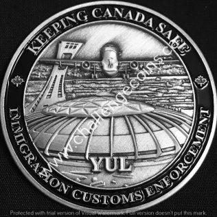 Canada Border Services Agency CBSA - Pierre Elliott Trudeau International Airport