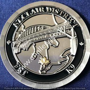 Canada Border Services Agency CBSA - St Clair District FRT K9