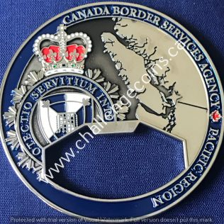 Canada Border Services Agency CBSA - Vancouver International Airport District Customs Immigration Agriculture Silver