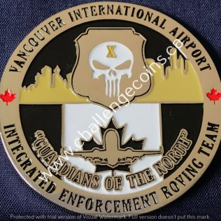 Canada Border Services Agency CBSA - Vancouver International Airport Roving Team Black