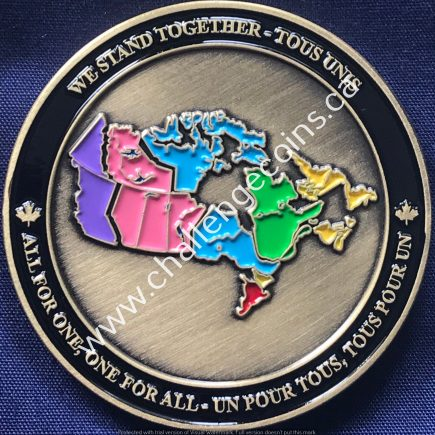 Canada Border Services Agency CBSA - We Stand Together Gold