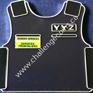 Canada Border Services Agency CBSA - YYZ Body Armour