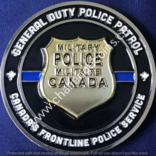 Canadian Military Police General Duty Police Patrol