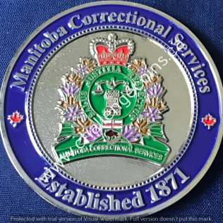 Manitoba Correctional Services - Alan Olson Retirement