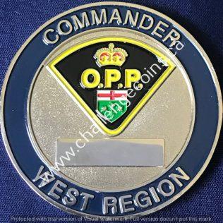Ontario Provincial Police OPP - Commander West Region