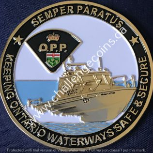 Ontario Provincial Police OPP - Marine Operator