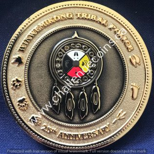 Wikwemikong Tribal Police 25th Anniversary