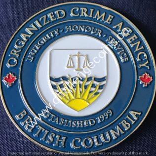 British Columbia Combined Forces Special Enforcement Unit- 2020