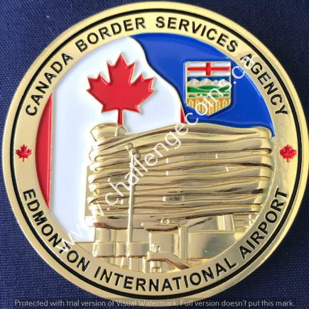 Canada Border Services Agency CBSA - Edmonton International Airport Gold