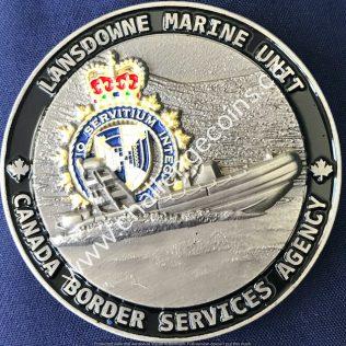Canada Border Services Agency CBSA - Lansdowne Marine Unit