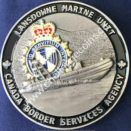Canada Border Services Agency CBSA - Lansdowne Marine Unit