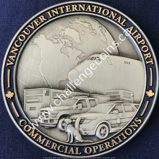 Canada Border Services Agency CBSA - Vancouver International Airport Commercial Operations Pewter