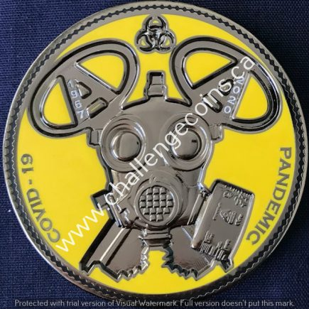 Correctional Service Canada - Drumheller Institution Covid 19 Pandemic Yellow