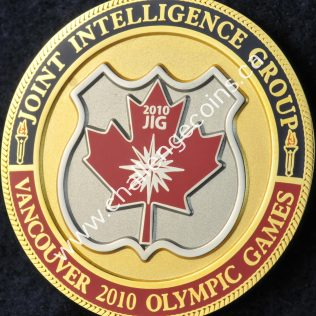 Integrated Security Unit Olympic Games Joint Intelligence Group 2010