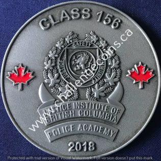 Justice Institute of British Columbia - Class 156 - 2018