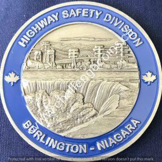 Ontario Provincial Police OPP - Highway Safety Division Burlington Niagara
