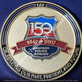 Windsor Police Service 150 years 1867-2017