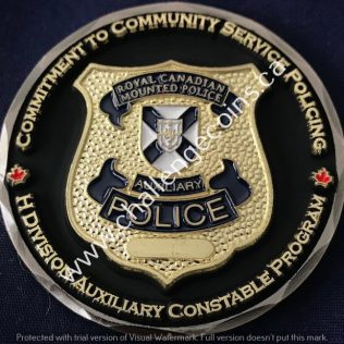 RCMP H Division - Auxiliary Constable Program