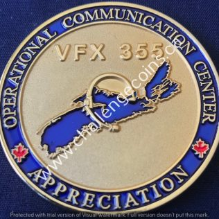 RCMP H Division - Operational Communication Center Appreciations Gold