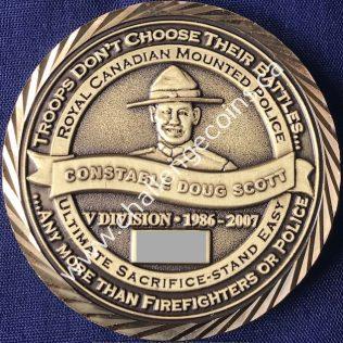 RCMP V Division - Cst Doug Scott 1986-2007