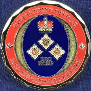 RCMP B Division - Commanding Officer