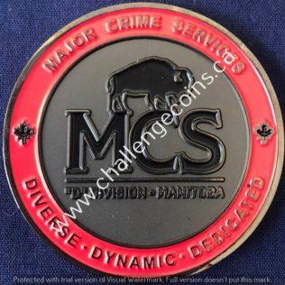 RCMP D Division Major Crime Services Red