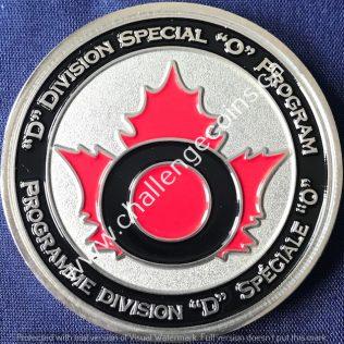 RCMP D Division - Special O Program