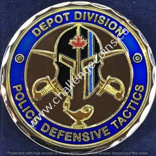 RCMP Depot - Police Defensive Tactics
