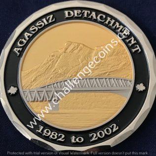 RCMP E Division - Agassiz Detachment 1982 to 2002