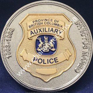 RCMP E Division - Auxiliary Program 1963-1998