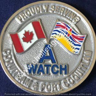 RCMP E Division Coquitlam RCMP A Watch