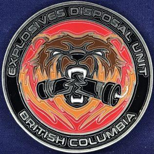 RCMP E Division Explosives Disposal Unit