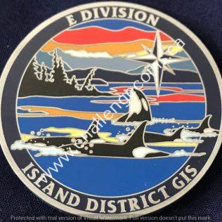 RCMP E Division Island District GIS