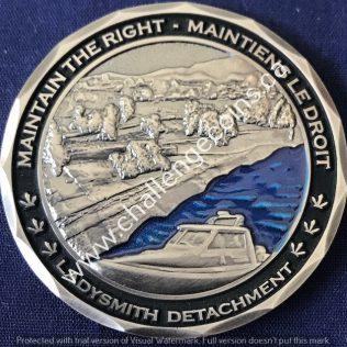 RCMP E Division Ladysmith Detachment Silver