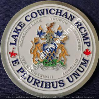 RCMP E Division Lake Cowichan Detachment Colour