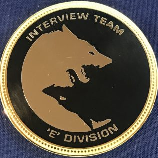 RCMP E Division Major Crime - Interview Team Gold